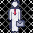 Employee Worker Job Icon