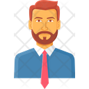 Employee Business Man Icon