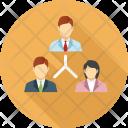 Employee Team Workflow Icon