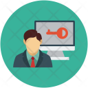 Employee Details Data Icon