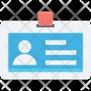 Employee Card Id Icon