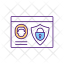 Employee Access Badge Icon