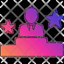 Employee Achievement Employee Rating Achivement Icon