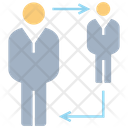 Allocation People Worker Icon