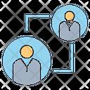 Allocation Manpower Rotate Icon