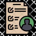 Employee Authority List Employee Authority Authorization Icon