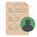 Employee Authority List Icon