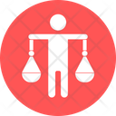 Employee Balance Balance Balancing Icon