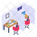 Employee Cabins Icon