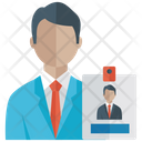 Id Card Student Card Employee Card Icon