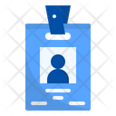 Employee Card Office Icon