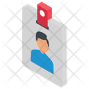 Id Card Identification Business Id Icon