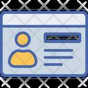 Employee Card Icon