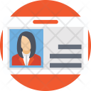 Employee Card Id Icon