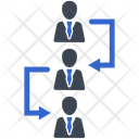 Employee Chain Icon