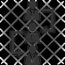 Chain Object Diagram Employee Icon