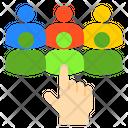 Employee Choose User Selection Employee Selection Icon