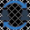 Employee Collaboration Icon