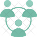 Communication Group Network Icon