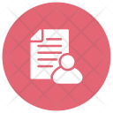 Employee Cv Resume Document Icon