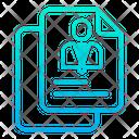 Document Cv Profile Icon
