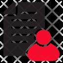 Employee Cv Icon