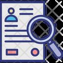 Employee data analysis Icon