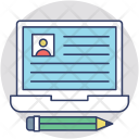 Employee Data Software Icon