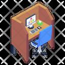 Employee Desk Icon