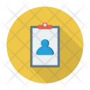 Employee Detail Account Icon