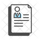 Employee details Icon