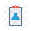 Employee Details Account Icon
