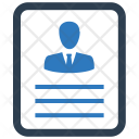 Employee document Icon