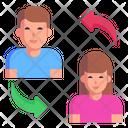Employee Exchange Icon