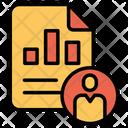 Employee Graph Icon