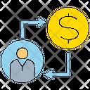 Allocation Manpower Coin Icon