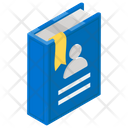 Employee Handbook Rule Book Company Booklet Icon