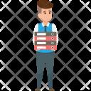 Employee Workload Folders Icon