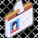 Employee ID Icon