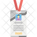 Employee Id Card Icon