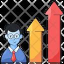 Employee Improvement Employee Management Human Development Icon