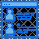 Employee Information Icon