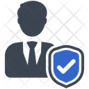 Employee Insurance Protection Icon