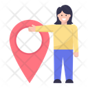 Location Pin Gps Employee Location Icon