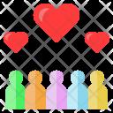 Employee love Icon
