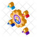 Working Outsource Emplayees Icon