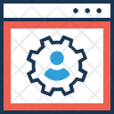 Employee Management Staff Icon