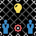 Knowledge Work Idea Icon