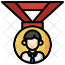Employee Medal Icon
