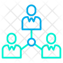 Networking Team Business Team Icon